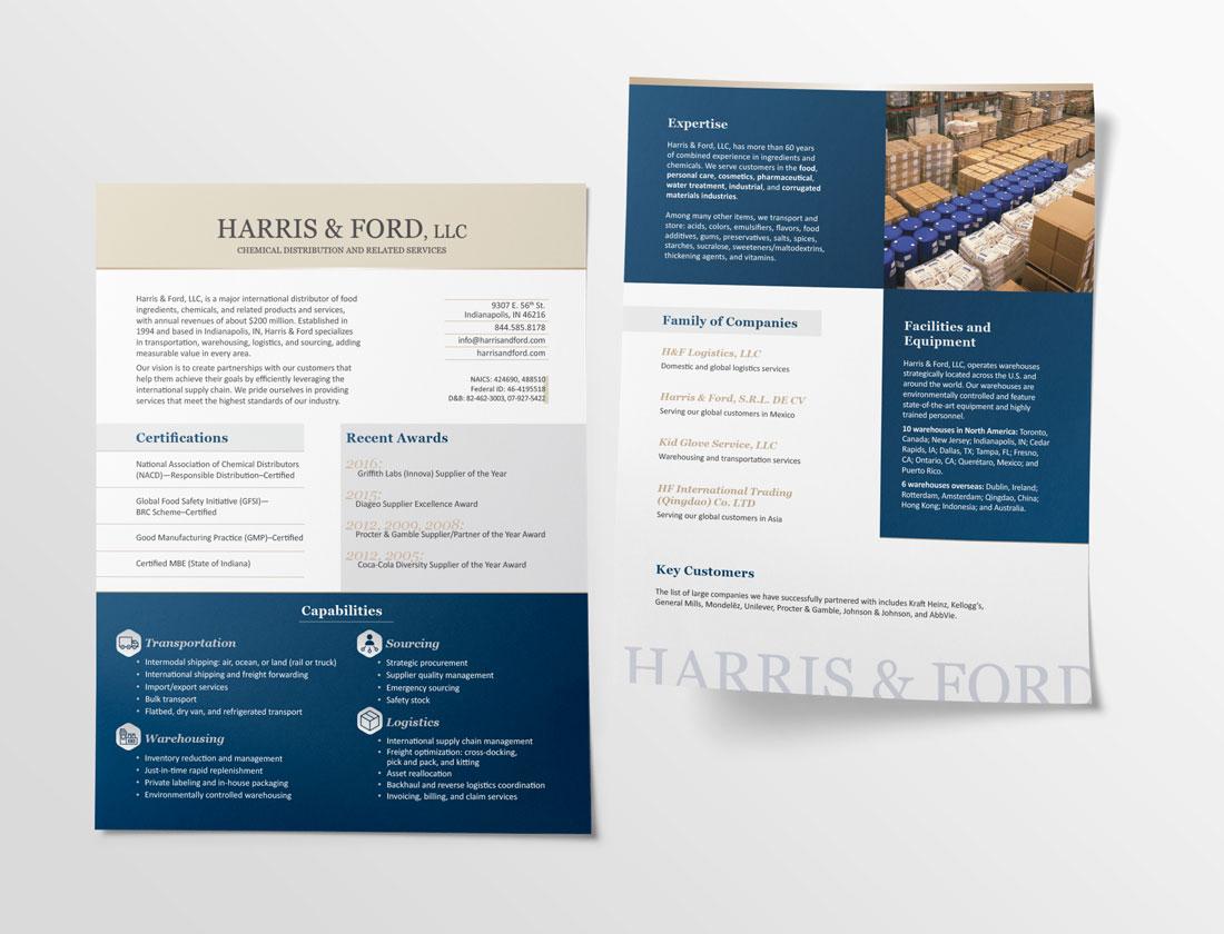 Harris & Ford Capabilities Sheet